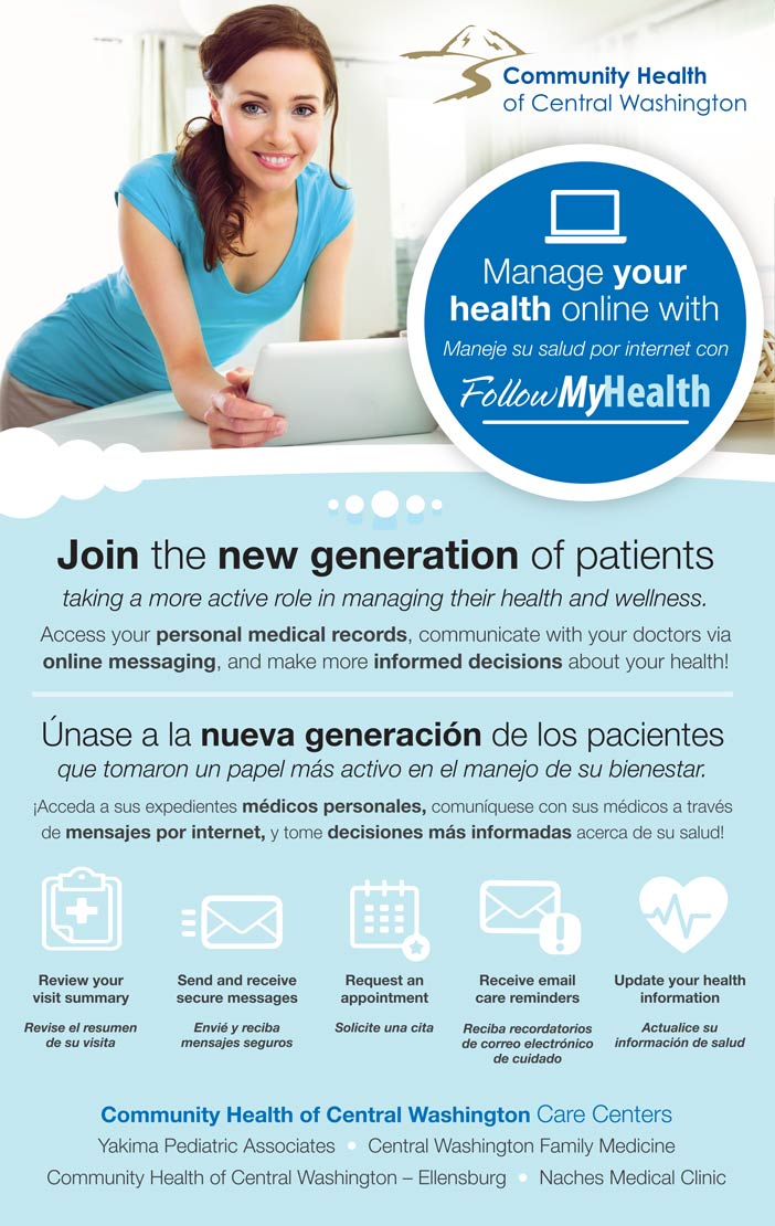 Follow MyHealth The New Patient Portal   Community Health of Central