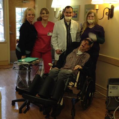 Senior Smiles Team in Yakima Washington a division of Community Health of Central Washington
